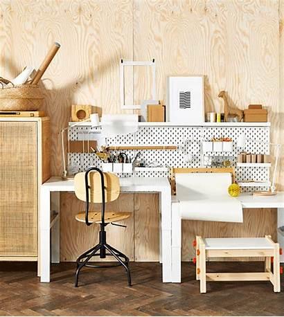 Ikea Study Space Office Chair Desk Einrichten