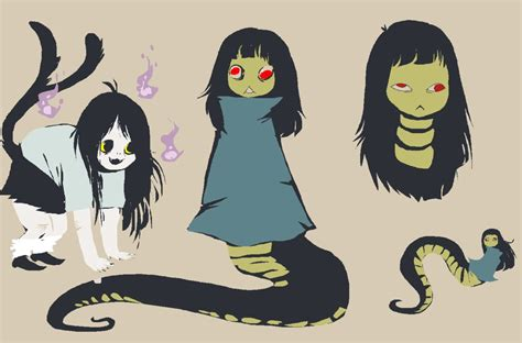 Snake Girl By Spoonfayse On Deviantart