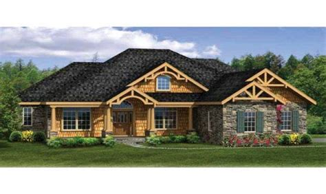 14 Spectacular Craftsman House Plans With Basement Home