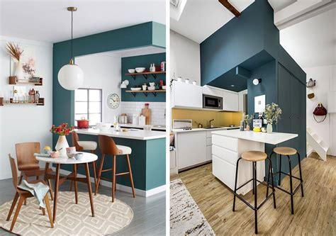 cuisine bleu canard bleu canard osez cette couleur dans votre d 233 coration int 233 rieure