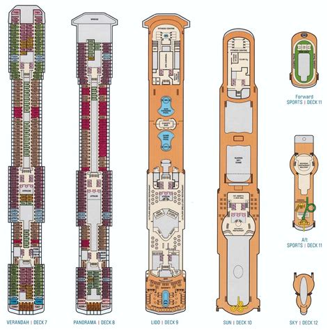 carnival cruise deck plans spirit 2017 punchaos