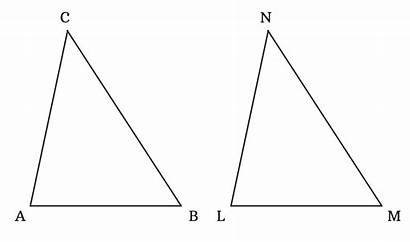 Sss Criterion Triangles Congruent Congruence Triangle Measured