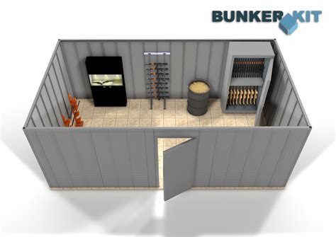 chambre de tirage l2t a weapons room to keep safe equipments