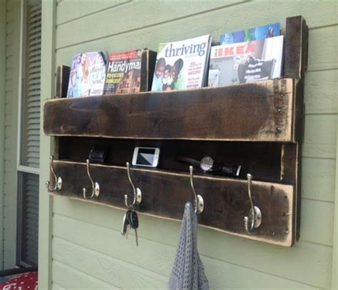 pallets hanging bookshelf ideas pallet ideas