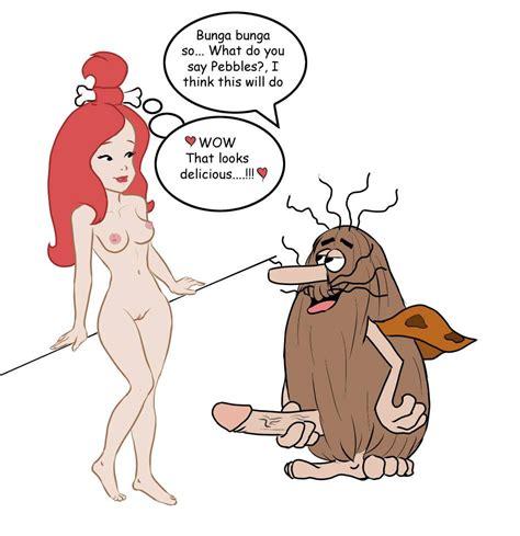 Teen Cartoon Porn Pebbles Flintstone XXX Pics