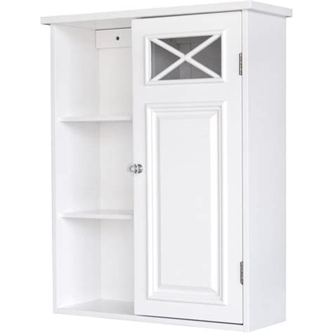 white bathroom cabinet walmart prairie wall cabinet with side shelves and door white