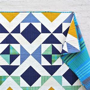 Nordic Triangles Quilt Pattern (Download) - Suzy Quilts