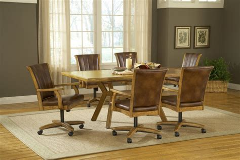casters dining room chairs dining chairs design ideas