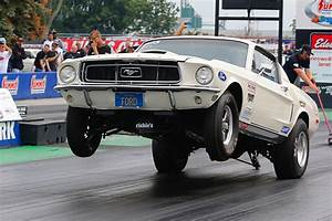 """""""135"""" 1968 Ford Mustang Cobra Jet Has Been Raced for 49 Years Straight 