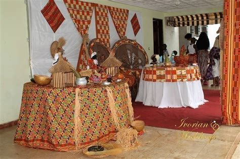 decoration mariage ivoirien