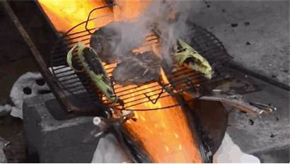 Bbq Lava Crazy Cooking Flowing Decided Vimeo