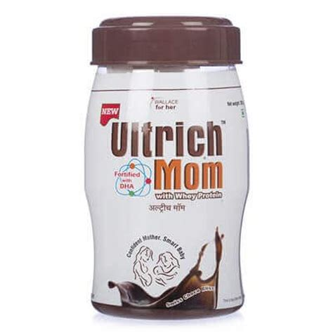 Buy Utrich Mom Powder Swiss Chocolate Flavor 200g