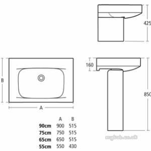 Ideal Standard Moments : ideal standard moments k0074 semi pedestal white ideal standard ~ Eleganceandgraceweddings.com Haus und Dekorationen