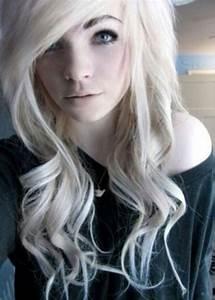 Blonde scene hair | White | Pinterest | Blonde Scene Hair ...