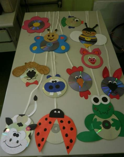 cd animals craft idea crafts and worksheets for 558 | 30cc56878c28798817c51a775a3fdc67
