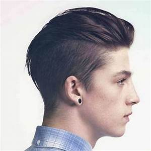 Indian Undercut Hairstyle For Men Back View
