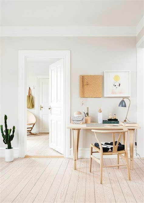 bureau bois scandinave bureau scandinave 50 idées pour un coin de travail pratique