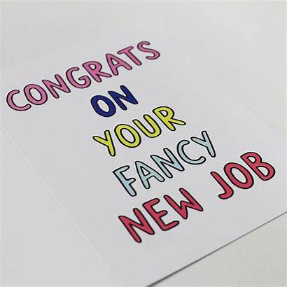 Job Congrats Card Congratulations Fancy Clipart Luck