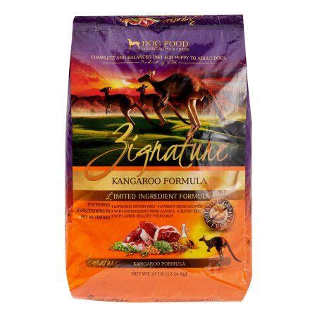 Kangaroo is good for dogs with allergies continual exposure of dogs to typical protein sources used in dog foods such as beef, chicken, dairy products, pork, lamb, and so on may cause food and skin sensitivities as well as intolerances. Zignature Kangaroo Limited Ingredient Formula Dry Dog Food ...