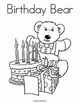 Coloring Birthday Happy Bear Grandma Pages Printable Teddy Bears Mom Gifts Colouring Twisty Noodle Cards Twistynoodle Preschool Birthdays Signs Teacher sketch template