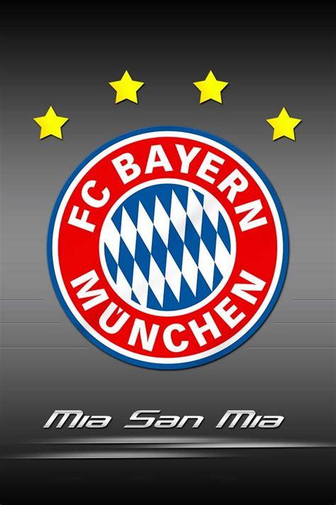 mia san mia fc bayern munchen logo hd wallpapers