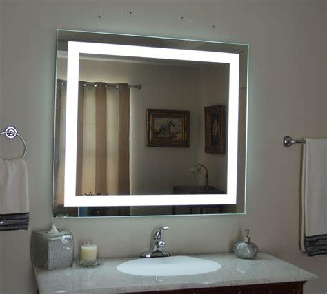 Vanity Mirror by Lighted Bathroom Vanity Mirror Led Wall Mounted 48