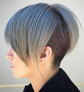 Top 5 Colorful Bob Haircuts Shaved In Back HairstylesOut