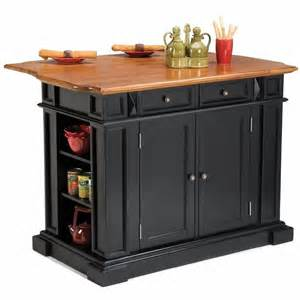 kitchen island with breakfast bar home styles island w breakfast bar black kitchen cart
