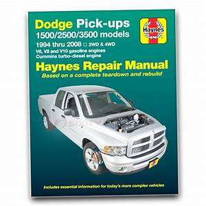 Dodge Ram 1500 Haynes Repair Manual Sport Trx4 St Sxt Ws
