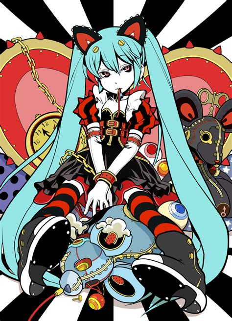 Queen Of Hearts Wallpaper Hatsune Miku Vocaloid Mobile Wallpaper 1180591 Zerochan Anime Image Board