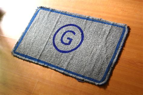 Make A Doormat by How To Make A Monogram Doormat With Pictures Wikihow