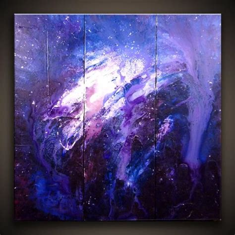 abstract space painting  peter   gallery
