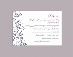 diy wedding rsvp template editable word file instant download rsvp template printable rsvp cards With rsvp wedding template