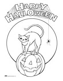 Halloween Coloring Pages Happy Halloween Free Coloring