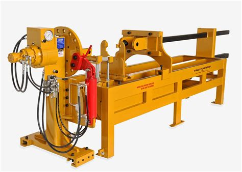 Hems Ltd's Latest Master Pin Pusher  Portable Track Presses