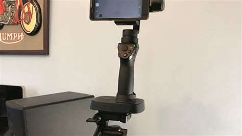 dji osmo mobile gimbal tripod mount setup youtube