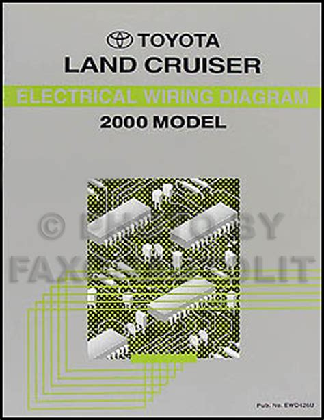toyota land cruiser electrical wiring diagram service manual car truck manuals