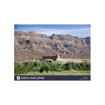 Kasbah Timiderte Draa Valley Morocco Stock Photo Royalty Free Image: 10289167 - Alamy