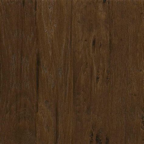 home depot flooring engineered wood home decorators collection western hickory saddle 3 8 in thick x 5 in wide x random length