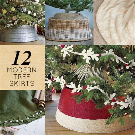 12 modern christmas tree skirts design sponge