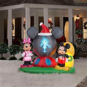 Mickey Minnie Mouse Christmas Inflatables
