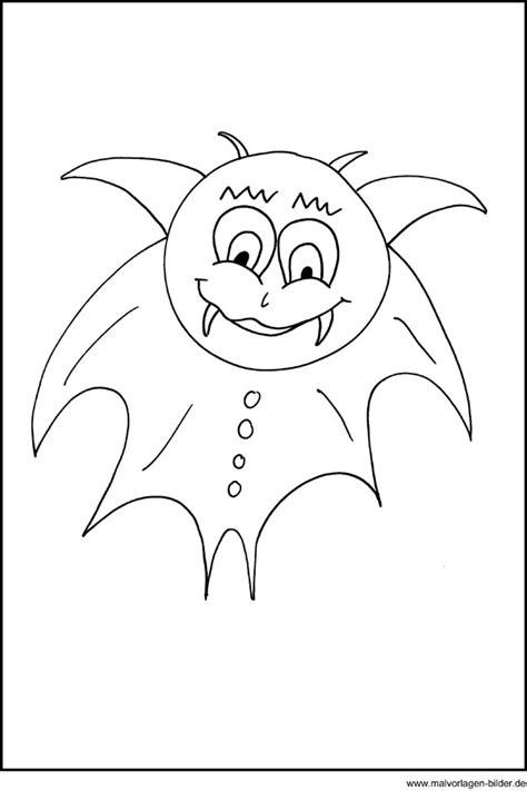 ausmalbild von einem kleine vampir zum ausdrucken