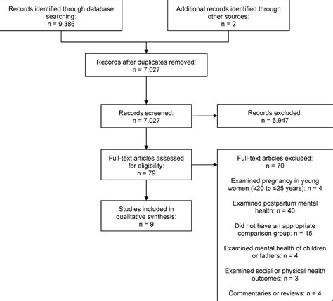 Further discussion on the conceptual framework and the. Teenage pregnancy and mental health beyond the postpartum period: a systematic review | Journal ...