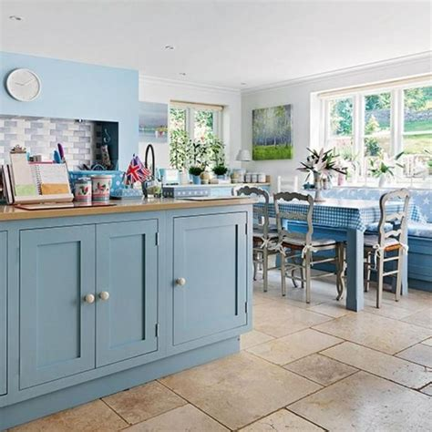 Blue Kitchen Ideas by 138 Best Pretty Blue Kitchens Images On