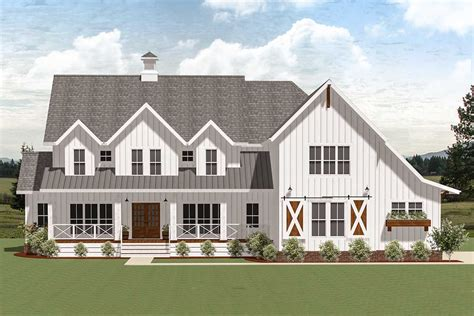 exclusive country dream house plan  optional  bedroom la architectural designs