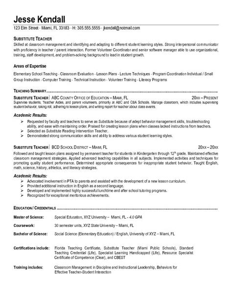 best education resume templates substitute resume best template collection u4zxttgh employment