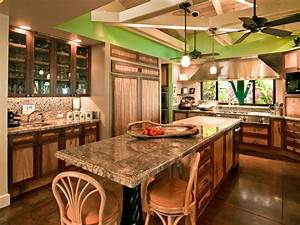 Hawaiian cottage style tropical kitchen hawaii by for Tropical kitchen design