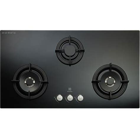 electrolux egtck gas hob  burners cast iron