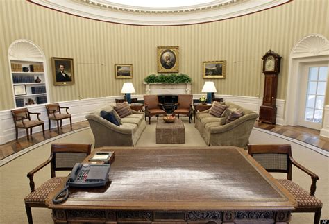 oval office tour oval office makeover photos huffpost