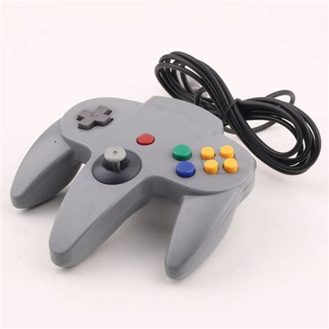 gray long handle game controller control remote pad joystick fit  althemax